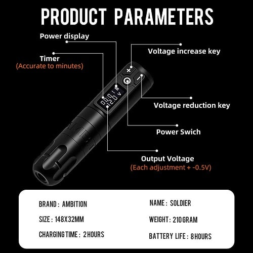 Ambition-Rotary-Battery-Pen