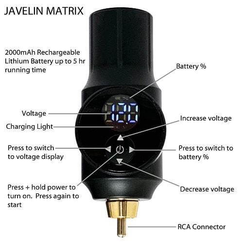 Javelin-Wireless-Portable-Tattoo-Pen