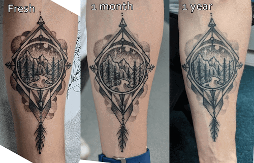color-of-a-tattoo-over-time