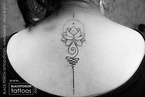 unalome-lotus