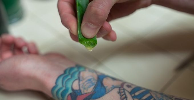 Can You Put Aloe On A Tattoo? Is It Good For Tattoo Healing?