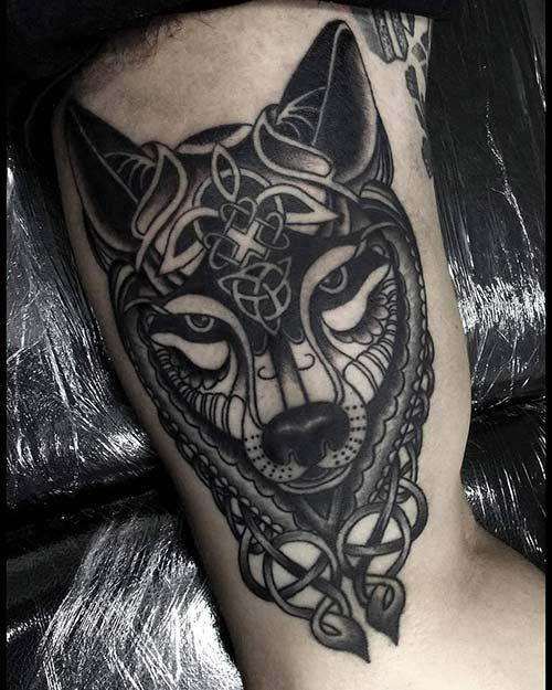 Celtic-wolf-tattoos-1