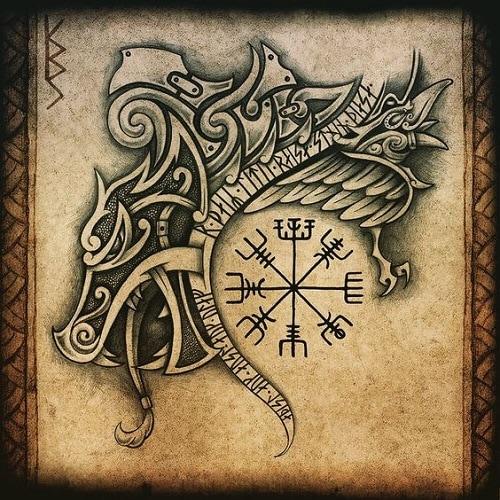 Celtic-wolf-tattoos-3