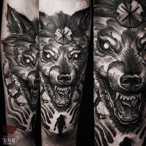 Celtic-wolf-tattoos