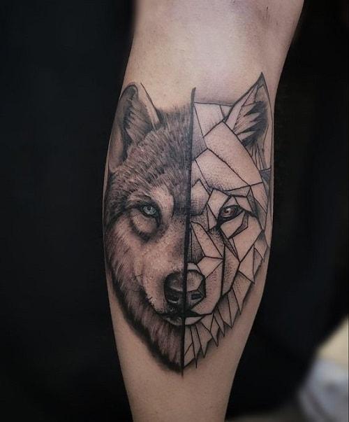 Geometric-wolf-tattoos-2