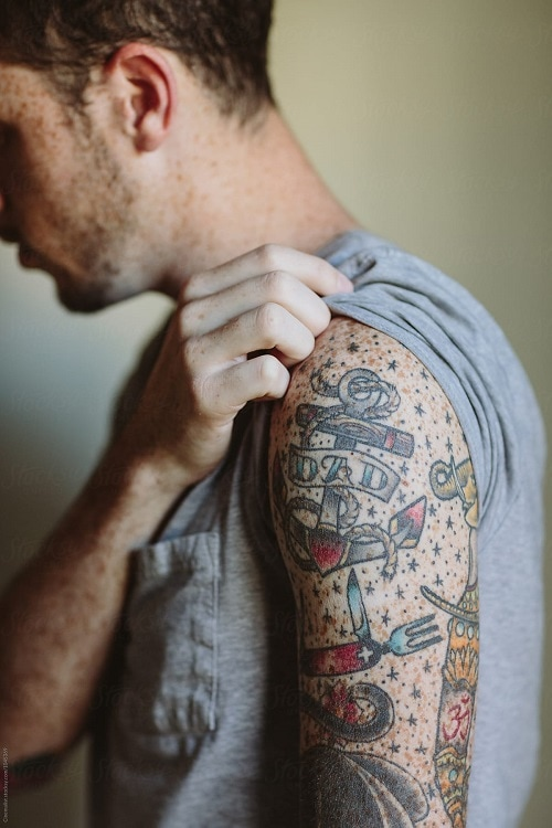 TATTOO STYLES FOR FRECKLES